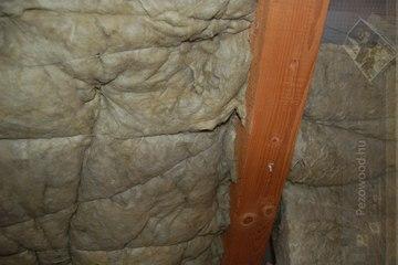 Kőzetgyapot hatásos vastagsága... trehány kivitelezés